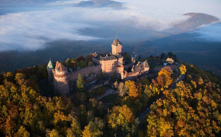 koenigsbourg - Castle of Haut Koenigsbourg